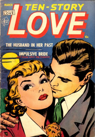 Cover for Ten-Story Love (Ace Magazines, 1951 series) #v30#1 [181]