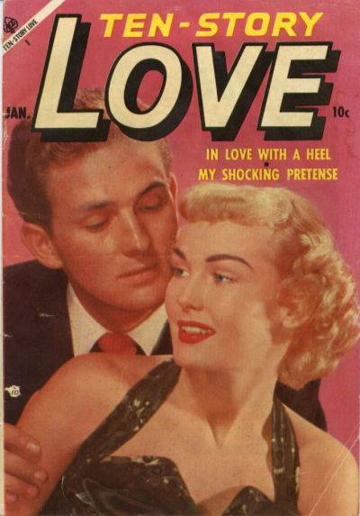 Cover for Ten-Story Love (Ace Magazines, 1951 series) #v33#1 [193]