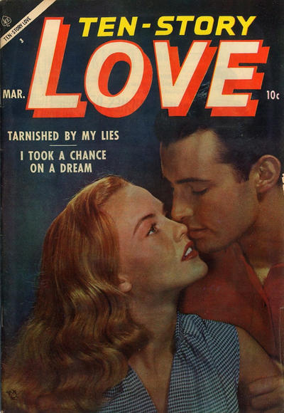 Cover for Ten-Story Love (Ace Magazines, 1951 series) #v33#2 [194]
