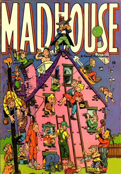 Cover for Madhouse (Farrell, 1954 series) #1