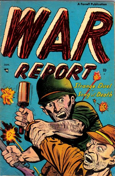 Cover for War Report (1952 series) #3