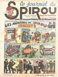 Cover Thumbnail for Le Journal de Spirou (Dupuis, 1938 series) #15/1940