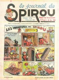 Cover Thumbnail for Le Journal de Spirou (Dupuis, 1938 series) #38/1940