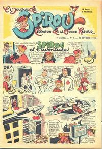 Cover Thumbnail for Le Journal de Spirou (Dupuis, 1938 series) #7/1945