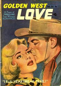 Cover Thumbnail for Golden West Love (Kirby Publishing Co., 1949 series) #1