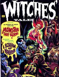 Cover Thumbnail for Witches Tales (Eerie Publications, 1969 series) #v5#1