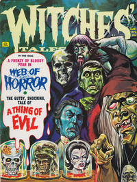 Cover Thumbnail for Witches Tales (Eerie Publications, 1969 series) #v5#2