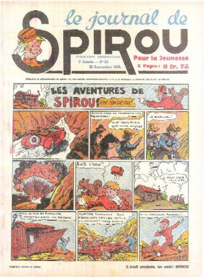 Cover for Le Journal de Spirou (1938 series) #39/1940