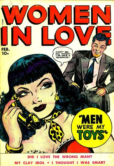 Cover for Women in Love (1949 series) #4