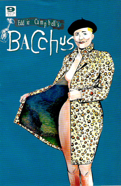 Cover for Eddie Campbell's Bacchus (Eddie Campbell Comics, 1995 series) #9