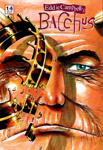 Cover for Eddie Campbell's Bacchus (Eddie Campbell Comics, 1995 series) #14