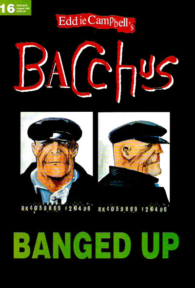 Cover for Eddie Campbell's Bacchus (Eddie Campbell Comics, 1995 series) #16