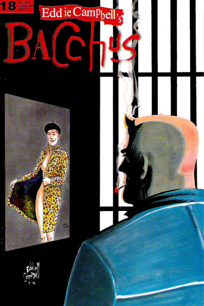 Cover for Eddie Campbell's Bacchus (Eddie Campbell Comics, 1995 series) #18