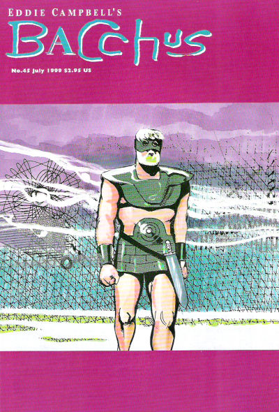 Cover for Eddie Campbell's Bacchus (Eddie Campbell Comics, 1995 series) #45