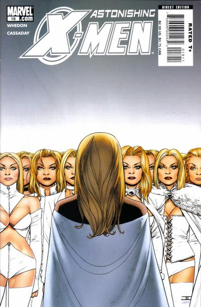 Cover for Astonishing X-Men (Marvel, 2004 series) #18