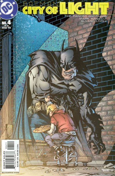 Cover for Batman: City of Light (DC, 2003 series) #4