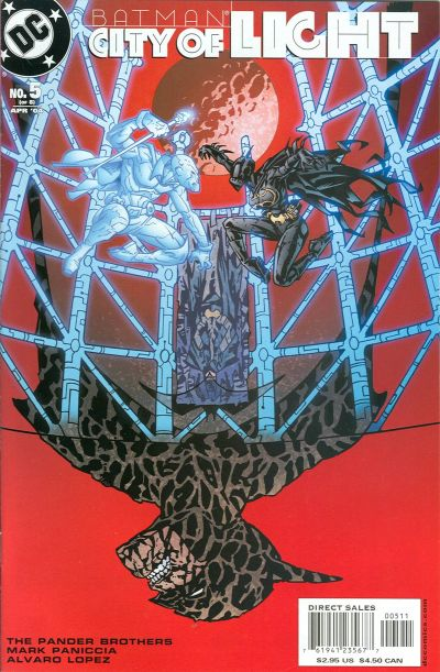 Cover for Batman: City of Light (2003 series) #5