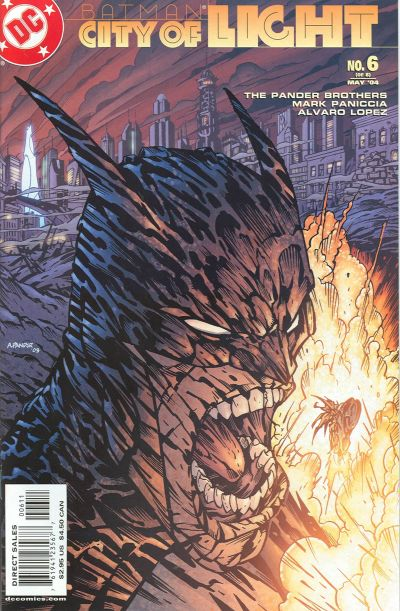 Cover for Batman: City of Light (2003 series) #6