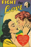 Cover for Fight for Love (United Features, 1952 series)