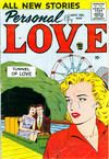 Cover for Personal Love (Prize, 1957 series) #v3#2
