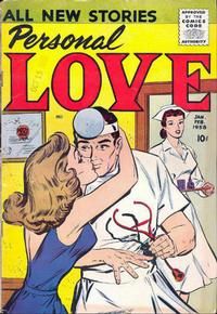 Cover Thumbnail for Personal Love (Prize, 1957 series) #v1#3
