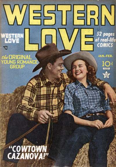 Cover for Western Love (Prize, 1949 series) #v1#4 [4]