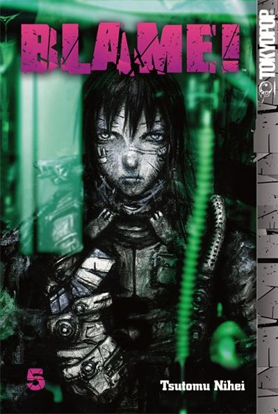 Cover for Blame! (Tokyopop, 2005 series) #5