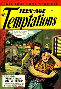 Cover Thumbnail for Teen-Age Temptations (St. John, 1952 series) #4
