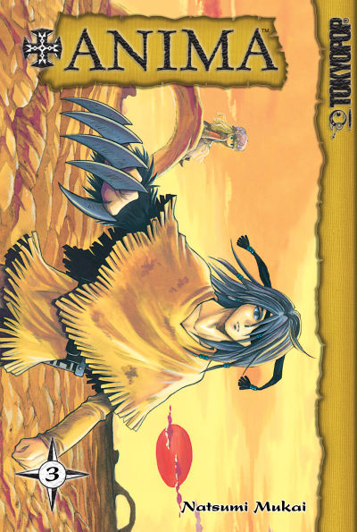Cover for +Anima (Tokyopop, 2006 series) #3