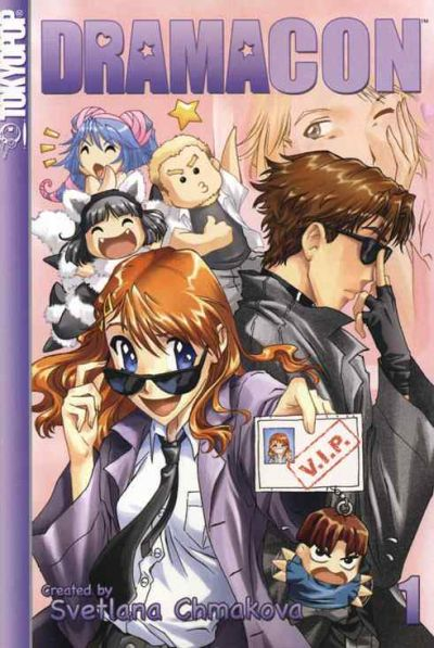 Cover for Dramacon (Tokyopop, 2005 series) #1