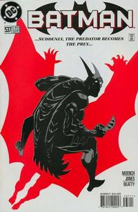 Cover for Batman (DC, 1940 series) #537