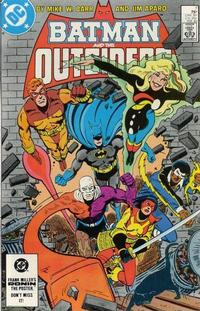 Cover Thumbnail for Batman and the Outsiders (DC, 1983 series) #7 [Direct]