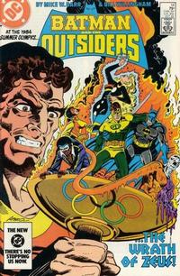 Cover Thumbnail for Batman and the Outsiders (DC, 1983 series) #14 [Direct]