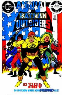 Cover Thumbnail for Batman and the Outsiders Annual (DC, 1984 series) #1 [Direct]