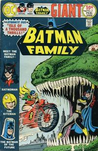 Cover for Batman Family (1975 series) #3