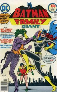 Cover Thumbnail for Batman Family (DC, 1975 series) #9