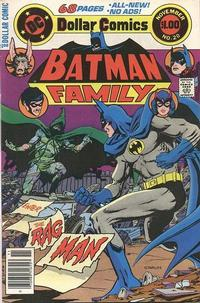 Cover Thumbnail for Batman Family (DC, 1975 series) #20