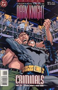 Cover Thumbnail for Batman: Legends of the Dark Knight (DC, 1992 series) #70