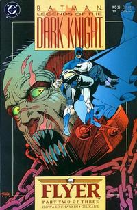 Cover Thumbnail for Legends of the Dark Knight (DC, 1989 series) #25