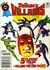 Cover Thumbnail for The Best of DC (DC, 1979 series) #14 [Newsstand]