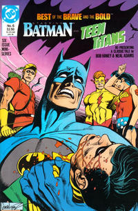 Cover for The Best of the Brave and the Bold (1988 series) #6