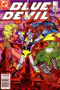 Cover Thumbnail for Blue Devil (DC, 1984 series) #11 [Newsstand Edition]