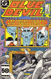 Cover Thumbnail for Blue Devil (DC, 1984 series) #22 [Direct]