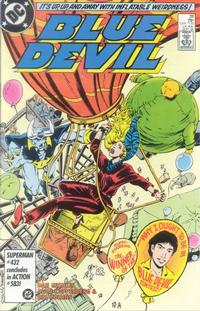Cover Thumbnail for Blue Devil (DC, 1984 series) #28 [Direct]