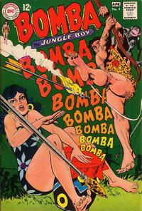 Cover Thumbnail for Bomba the Jungle Boy (DC, 1967 series) #4