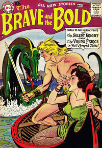 Cover for The Brave and the Bold (1955 series) #17