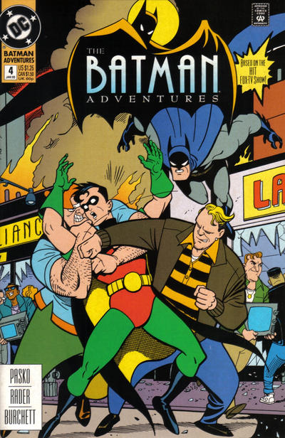 Cover for The Batman Adventures (DC, 1992 series) #4