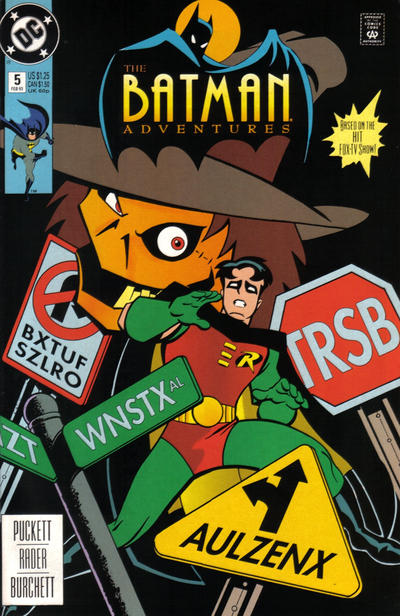 Cover for The Batman Adventures (DC, 1992 series) #5