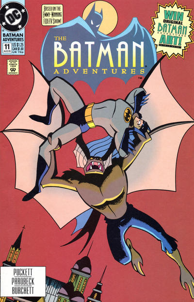 Cover for The Batman Adventures (DC, 1992 series) #11