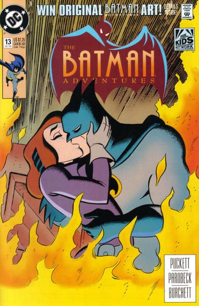 Cover for The Batman Adventures (DC, 1992 series) #13
